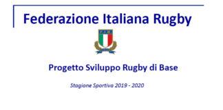Progetto sviluppo rugby base - 2019-2020
